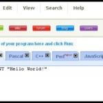 Codeide – javascript, c++, Pascal… Programação Online