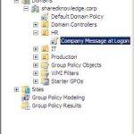 Como adicionar uma mensagem aos usuários que estão efetuando login nas estações (Active Directory)